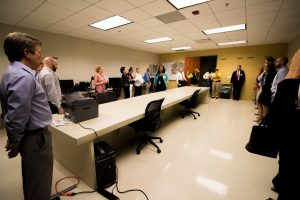 Emergency Operations Center Tour led by Emergency Management Coordinator, Chauncia Willis