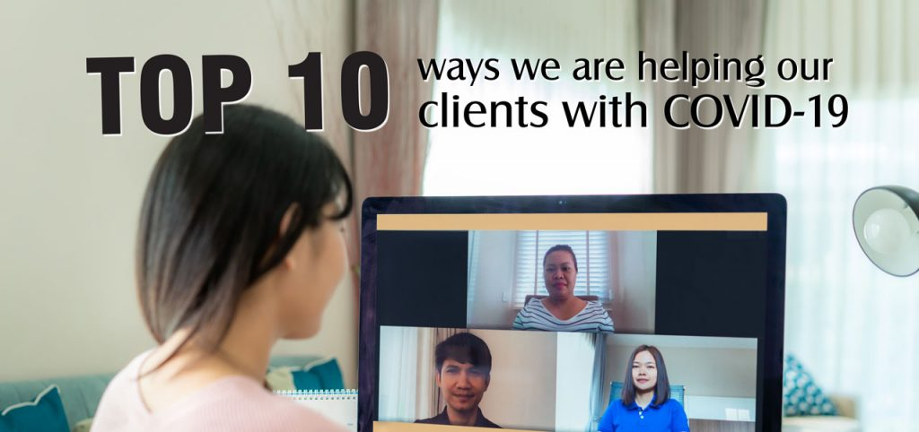 Top Ten Ways to Help Clients